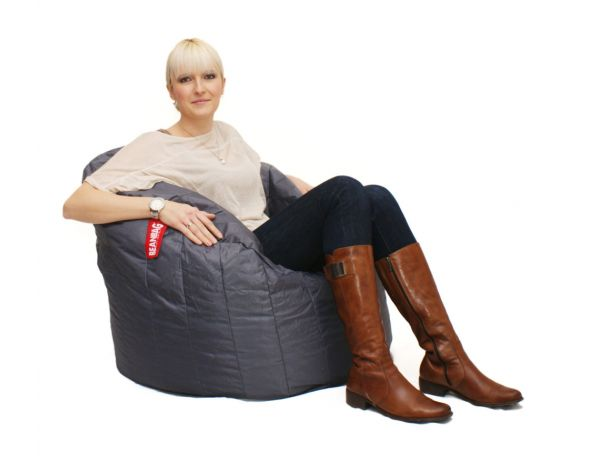 Sedací pytel BeanBag Lumin Chair-dark gray