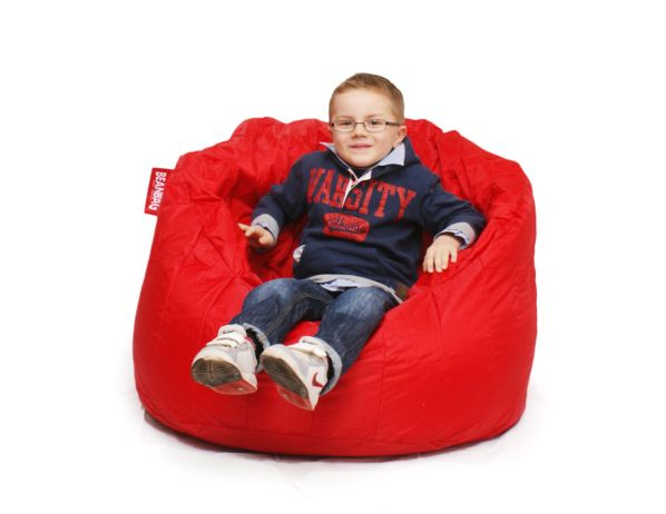 Sedací pytel BeanBag Lumin Chair-scarlet rose